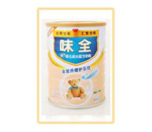 味全优+全营养健护系列幼儿成长配方奶粉