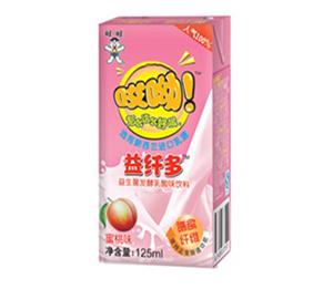 旺旺哎呦益纤多125ml(蜜桃味)