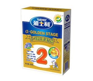 雅士利a金装盒装较大婴儿配方奶粉2段
