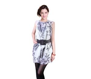 优加优加银纤维防辐射吊带裙-赠银肚兜