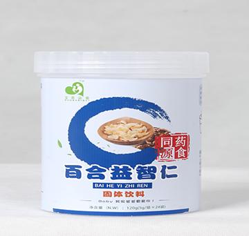 """""""宝爸必备""""百合益智仁药食同源固体饮料"""