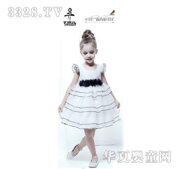 t100黑色儿童裙