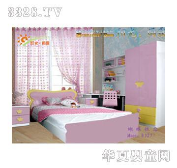 阳光雨露儿童家具粉色