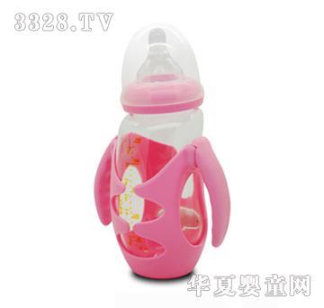 E童240ml企鹅宝宝玻璃奶瓶