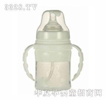 爹地妈咪160ml宽口径硅胶奶瓶