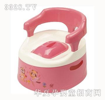 水仙牌梅红色儿童座便器