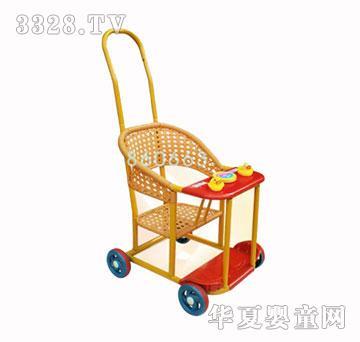 乐融融仿藤手工编织婴儿推车儿童童车