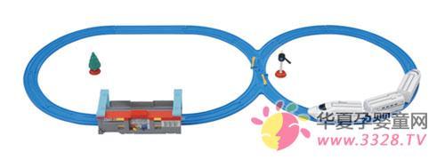 北京2012年妇儿博览会普乐路路轨道搭建